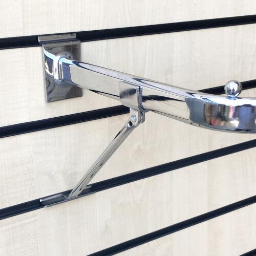 SLATWALL SLAT BOARD CLOTHES RAIL D RAIL BAR FOR RETAIL SHOP