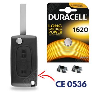 Coque-de-Clef-Telecommande-Plip-pour-Cle-voiture-PEUGEOT-207-307-308-407-CE0536