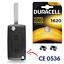 Coque-de-Clef-Telecommande-Plip-pour-Cle-voiture-PEUGEOT-207-307-308-407-CE0536 miniature 1