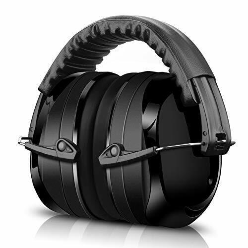 Gehörschutz für Kinder und Erwachsene 34dB Höchste NRR Kopfb Kapselgehörschutz