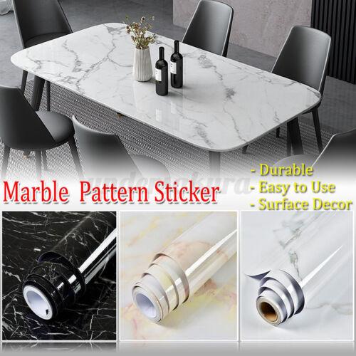 3//5M PVC Wandfolie Klebefolie Wandaufkleber Selbstklebend Marmortapete Dekofolie