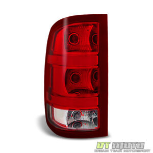 2007 2013 gmc sierra 1500 2500hd 3500hd tail light brake. Black Bedroom Furniture Sets. Home Design Ideas