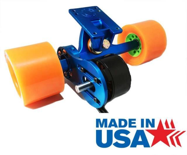 Skateboard 63mm Electric Motor Mount DIY (Caliber II Truck Compatible) [Premium]