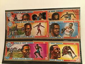 Rep de Guinea Olympic sport cancelled stamps  R21881