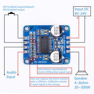Mono-Digital-Amplificateur-Board-DC-8-24-V-Classe-D-10-W-20-W-30-W-amplificateur-module