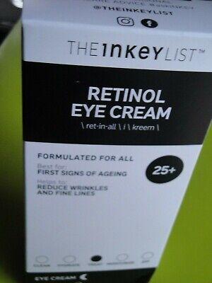 The Inkey List Retinol Eye Cream 5606422297322 Ebay