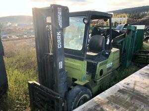 CLARK 6,000 lb Forklift Canada Preview