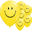 100-x-SMILEY-YELLOW-12-034-FACE-BALLOONS-Latex-Rubber-Helium-Party-Decor-baloons thumbnail 2