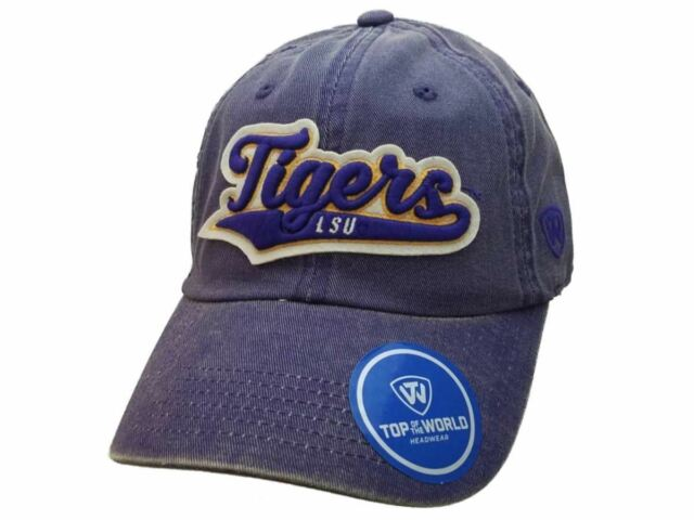 on sale 4e5eb 9dac1 LSU Tigers Official NCAA Adjustable Park Hat Cap by Top of The World 027777