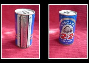 COLLECTABLE-AUSTRALIAN-STEEL-BEER-CAN-CASCADE-2-2-LITE-LAGER-375ml
