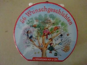 XXXX-Mein-Hoerbuch-Koffer-56-Wunschgeschichten-ab-4-Jahre-4-CDs-NEU
