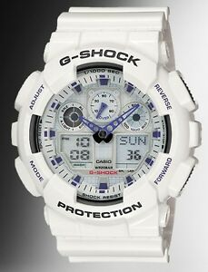 Casio-G-Shock-GA100A-7A-Anti-Magnetic-Anadigi-Watch-X-Large-White-Resin-Men