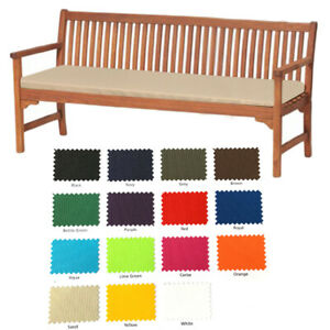 Water Resistant Cushion Pad Only For 4 Seater Bench Swing