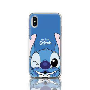 Lilo Stitch Silicon Case For Iphone X Xr Xs Max Stitch Iphone 6s 7 8 Plus Case Ebay