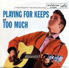 "ELVIS PRESLEY  ""PLAYING FOR KEEPS""       RED VINYL    LISTEN"