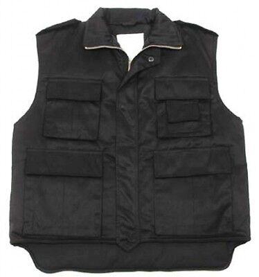 Buono Us Ranger Gilet Army Vest Foderati Con Molte Tasche Nero Black Large-mostra Il Titolo Originale Così Efficacemente Come Una Fata