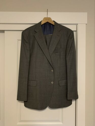 SuitSupply Suit Supply Napoli Mid Gray Wool Suit 6