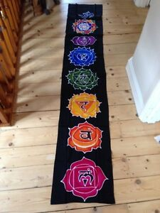 Image Is Loading Large Chakra Symbol Wall Hanging Fair Trade Meditation