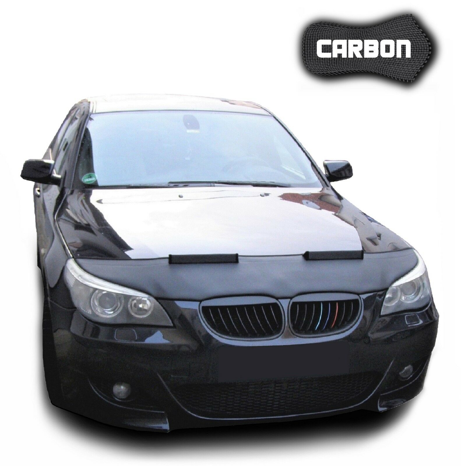 ab 11 BRA Steinschlagschutz Haubenbra CARBON Optik BMW 1 F 20  Bj