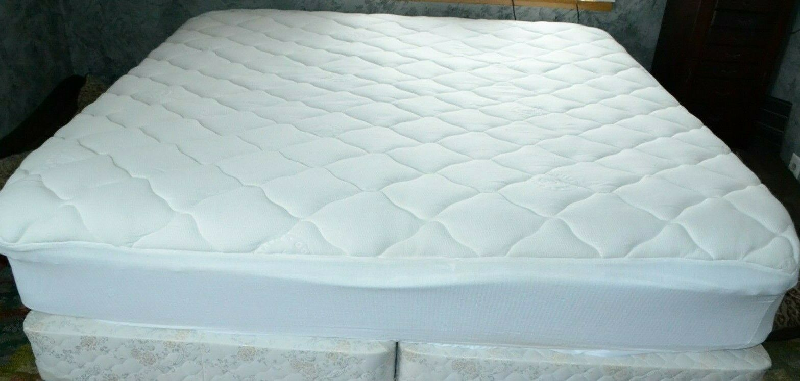 EXCELLENT KING BAMBOO MATTRESS PAD TOPPER