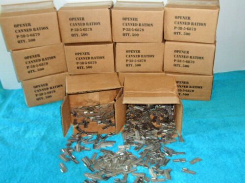 P38 Can Opener 15 Piece Made For US Military in Vietnam /& WWII Wars