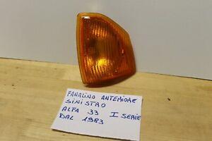 ALFA 33 1°SERIE FANALINO ANTERIORE ALFA 33