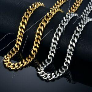 Collana-catena-girocollo-acciaio-uomo-5mm-9mm-oro-argento-snake-serpente-regalo