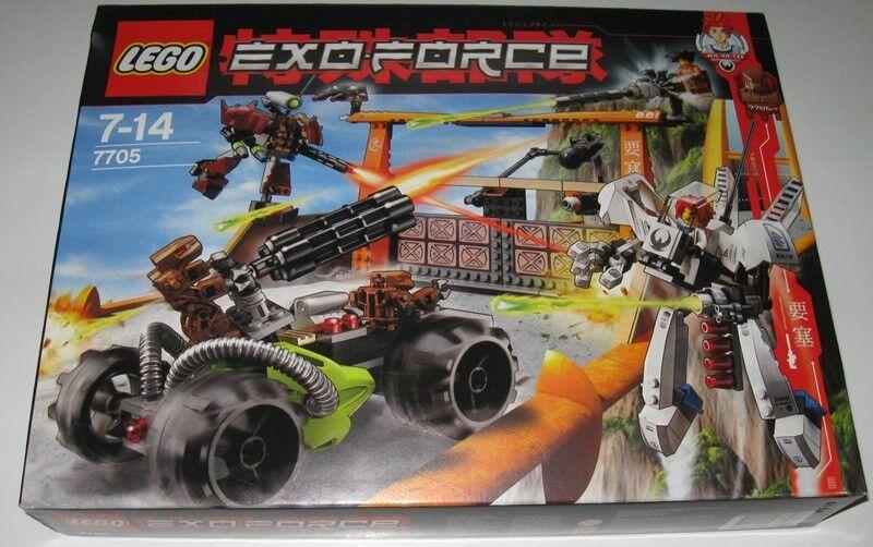LEGO LEGO LEGO EXOFORCE 7705 GATE ASSAULT SCATOLA SIGILLATA d7932a