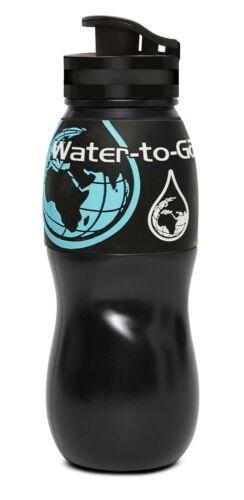 L/'eau à partir de filtration d/'eau bouteille 75 cl Noir
