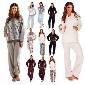 3bd2579735 Image is loading Womens-Twosie-Nightwear-Lounge-Pants-Jumper-Lounge-Set-