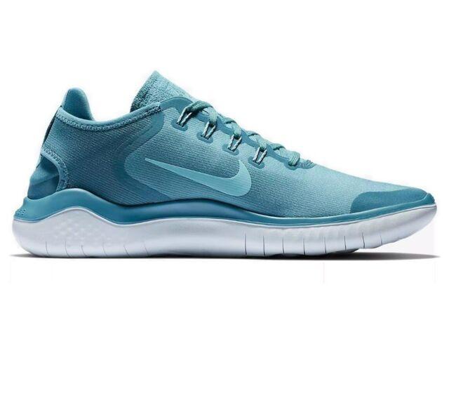 finest selection 5f8ea 71b24 Nike Free RN 2018 Sun Noise Aqua/Ocean Bliss AH5207 400 Men's Running Shoes