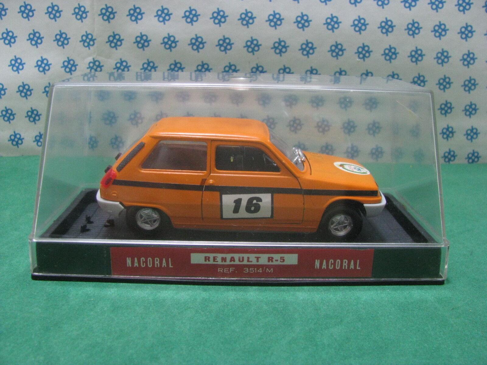 Vintage  -   RENAULT 5 TL  Rally   -  1 25  Nacoral S.A. Ref.3514 M