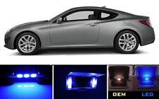 Ultra Blue Vanity / Sun visor LED light Bulbs for Hyundai Genesis  (2 Pcs)