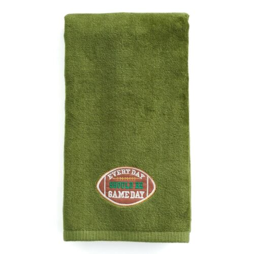 Details about  Football Every Day Should Be Game Day HandKitchen Dish Towel 16x25 NWT