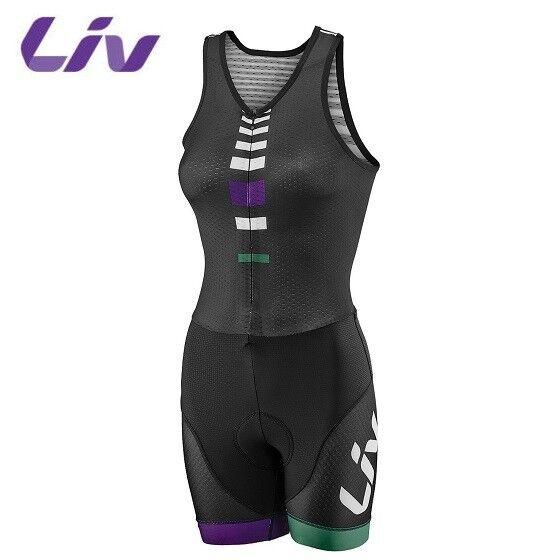 Liv Signature  Tri Traje-Mujer traje para ciclismo de triatlón del cuerpo-Negro  calidad oficial