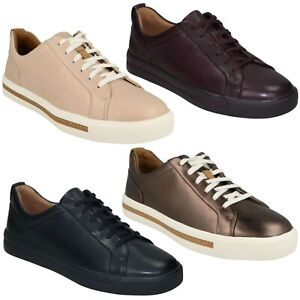 fbd4bebf Details about LADIES CLARKS UN MAUI LACE UNSTRUCTURED LACE UP CASUAL  LIGHTWEIGHT TRAINERS SHOE