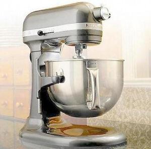 Details about KitchenAid RRKP26M1Xcu PRO 600 STAND MIXER 6 qt BIG Silver  Professional 600