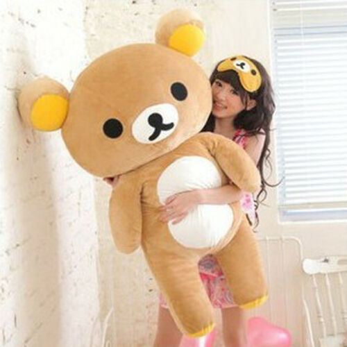 80cm San-x Rilakkuma Relax Bear Soft Giant Plush Doll Toy Stuffed Pillow Gift US