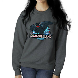 How To Train Your Dragon Island Jurassic Park Toothless Women S