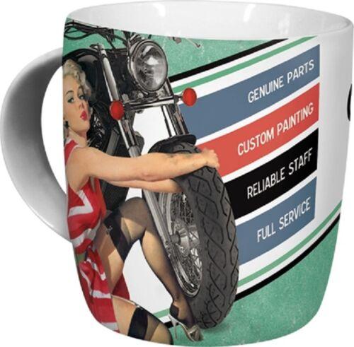 Werkstatt Tasse Schrauber Kaffeebecher Mug 43002 Best Garage for Motorcycles