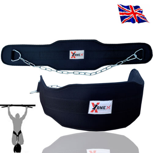 Fitnes Dipping Belt Body Building Weight Lifting Dip Chain Exercise Gym Training