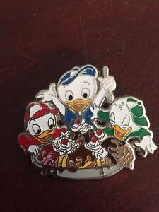 Disney-Huey-Dewey-amp-Louie-Pin-Trader-039-s-Delight-PTD-LE-300-DSF-DSSH-GWP-Duck-Tale