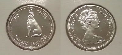 1994 Canadian Prooflike 50 Cent Fifty Cent $0.50