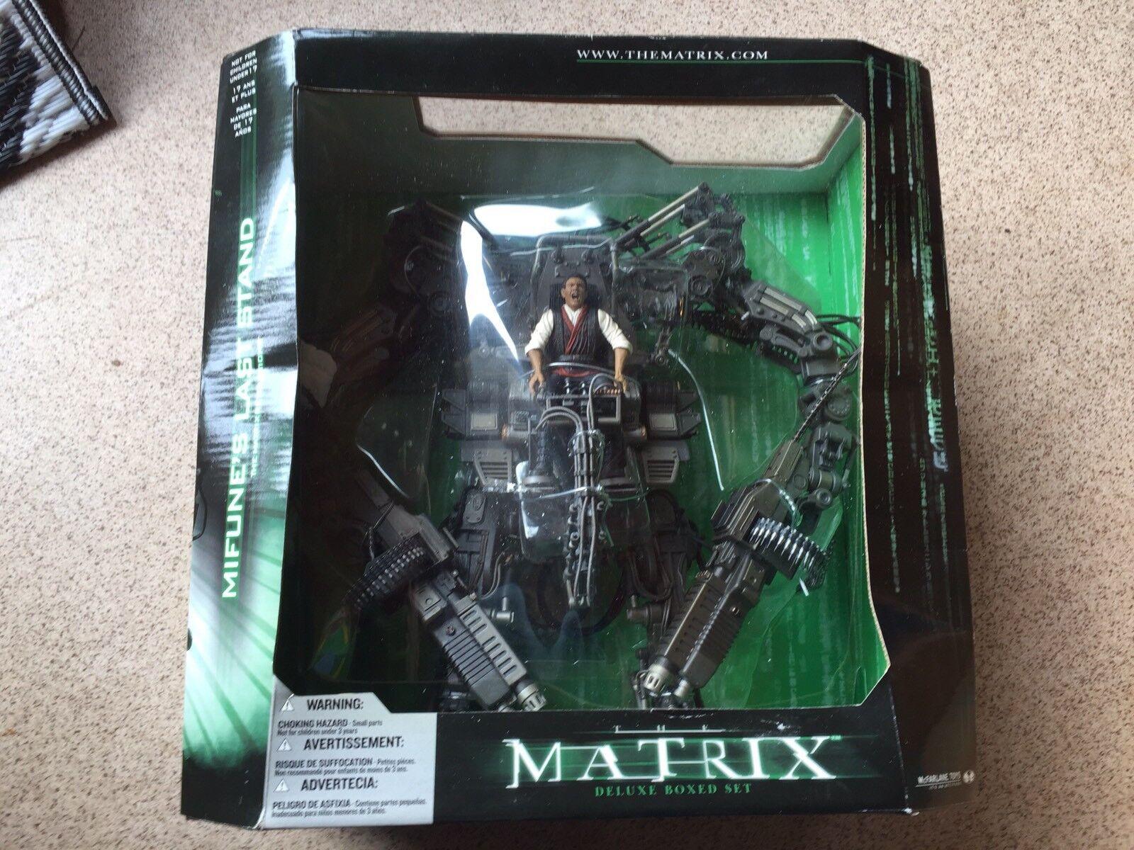 MacFarlane giocattolo Matrix Midivertimentoe's Last Ste - Molto raro MISB