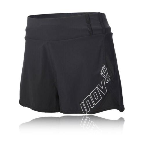 """Inov 8 Race Elite 2.5/"""" Racer pour Femme Noir Résistant à L/'Eau Running Shorts Pantalon"""