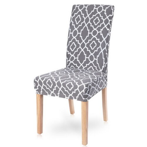 HOT Elastic Dining Chair Covers Covers Protective Chair Kitchen Slipcovers New