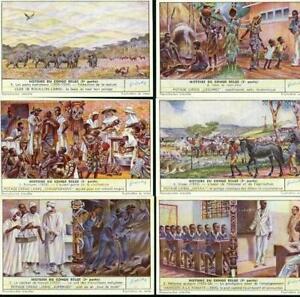LIEBIG : S_1545 : Histoire du Congo Belge I