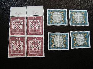 Germany-Rfa-stamp-Yvert-and-Tellier-N-202-209-X4-N-A6-Stamp-Germany