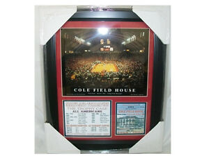 FINAL-GAME-COLE-FIELD-HOUSE-MARYLAND-TERPS-8x10-PHOTO-11x14-Framed-Gary-Williams