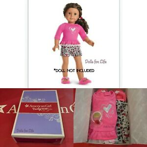 American Girl Lovely Leopard PJs for 18-inch Dolls